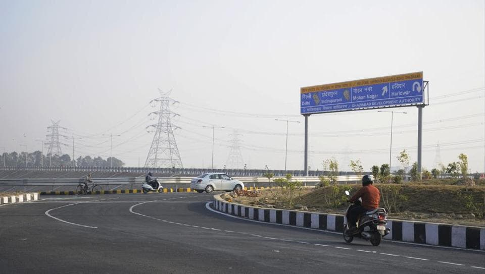 The Ghaziabad development authority has completed the load bearing and safety tests for the 10.3km Hindon elevated road which is scheduled to be inaugurated in January.
