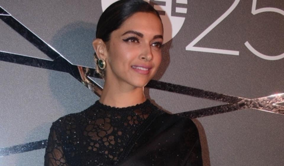 Deepika Padukone during a party in Mumbai.