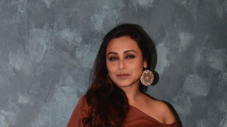 Rani Mukerji was last seen in Mardaani.