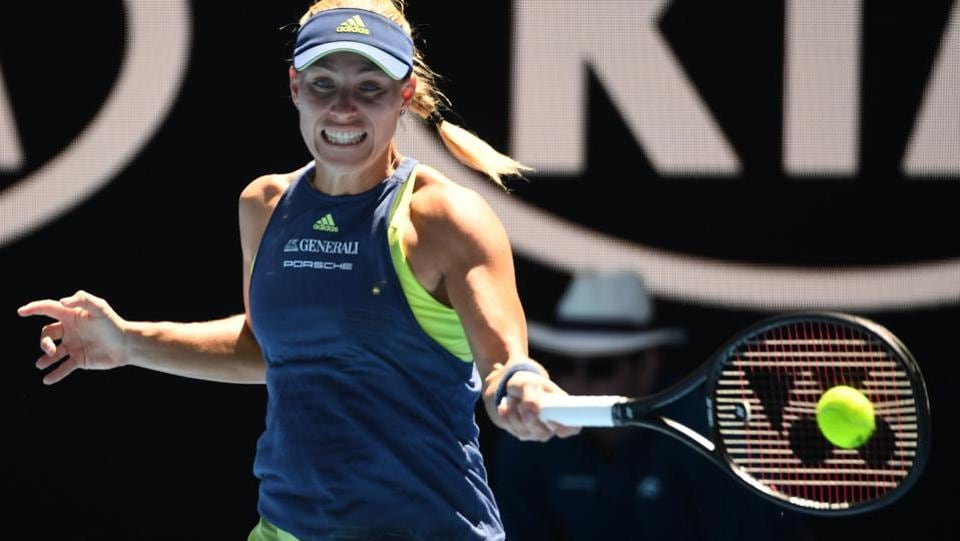 Germany's Angelique Kerber won with ease against compatriot Anna-Lena Friedsam. (AFP)