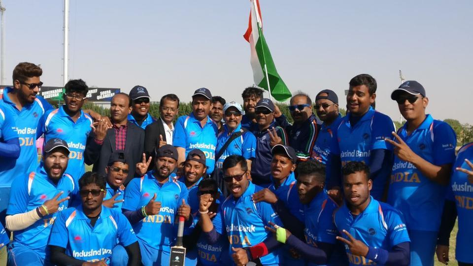 India will take on Pakistan in the final of the Blind Cricket World Cup.