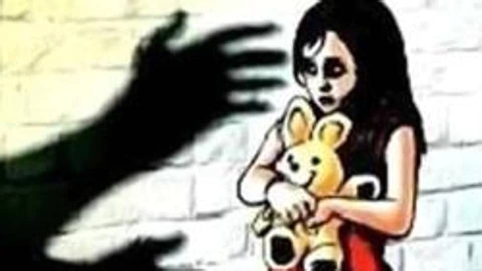 The little girl was alone at home when she was assaulted late Tuesday  evening.