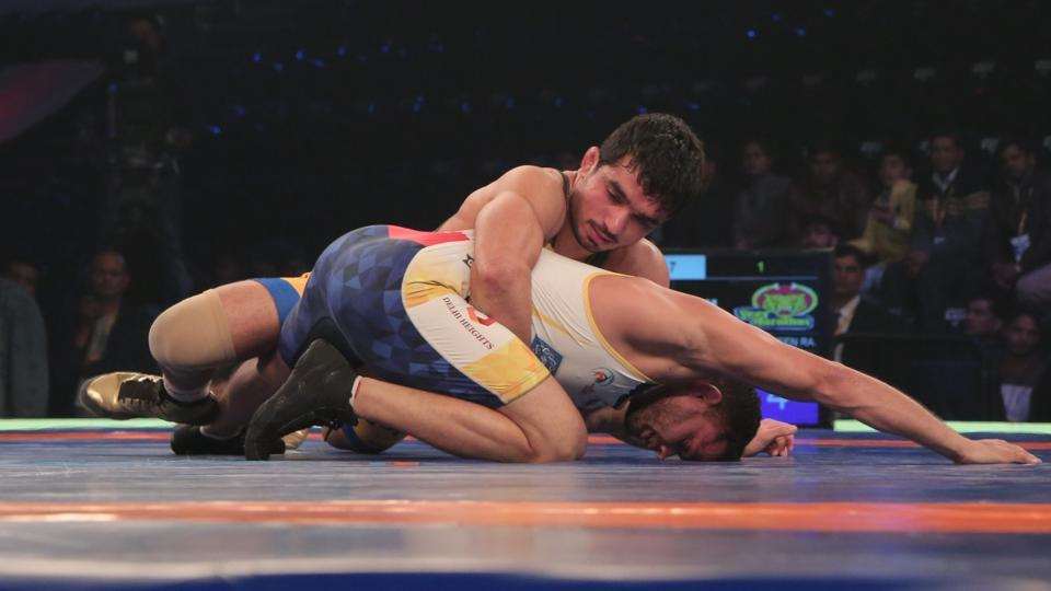 Parveen Rana guided Veer Marathas to their first win of the Pro Wrestling League (PWL) versus Mumbai Maharathi in New Delhi today.