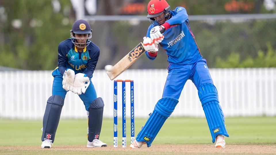 Ibrahim Zadran top-scored for Afghanistan in their ICC U-19 Cricket World Cup match against Sri Lanka on Wednesday.
