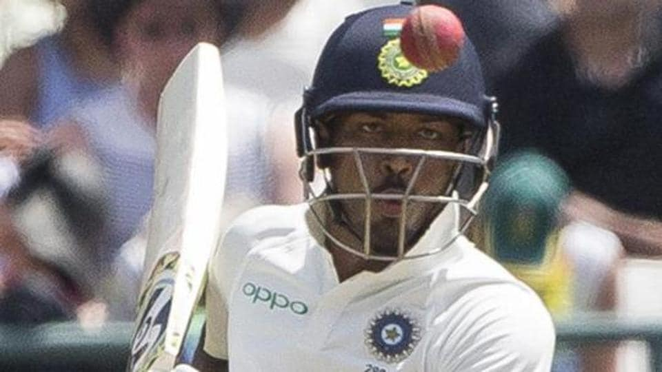 Hardik Pandya has been criticised by Kapil Dev for his batting performance in the Centurion Test against South Africa, which India lost by 135 runs.