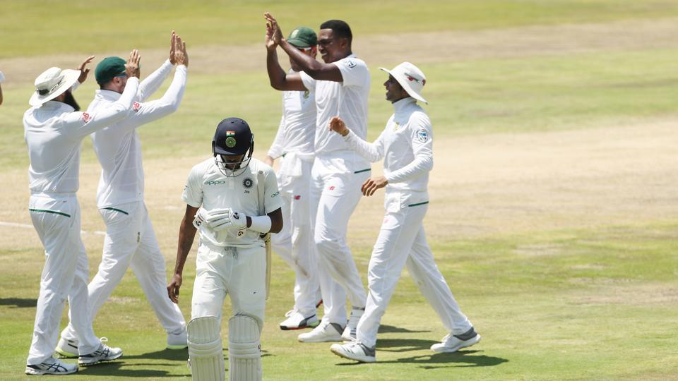 Ngidi, who took the wickets of KL Rahul and Virat Kohli on Tuesday, followed up by having Hardik Pandya and RAshwin caught behind by Quinton de Kock. (BCCI )