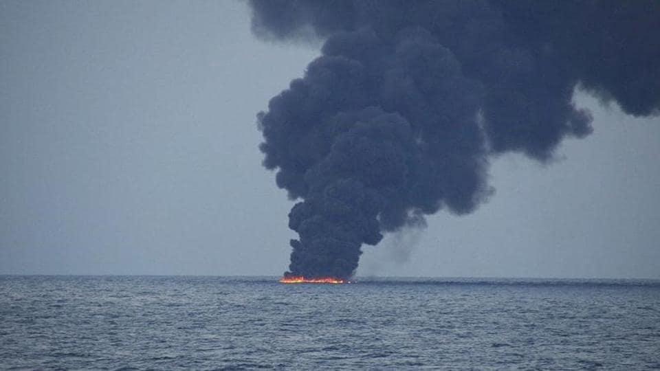 Iranian oil tanker,East China Sea,China