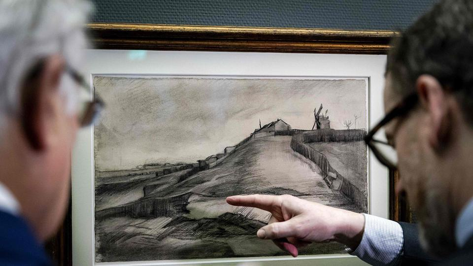Rare Forgotten Drawings By Van Gogh Are On Display In