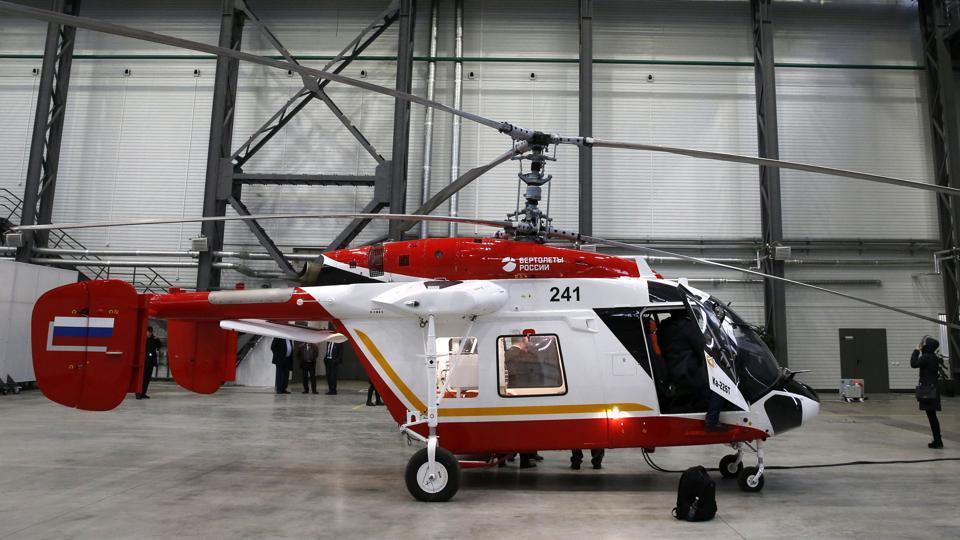 India-Russia relations,defence hardware,Kamov Ka-266T helicopter