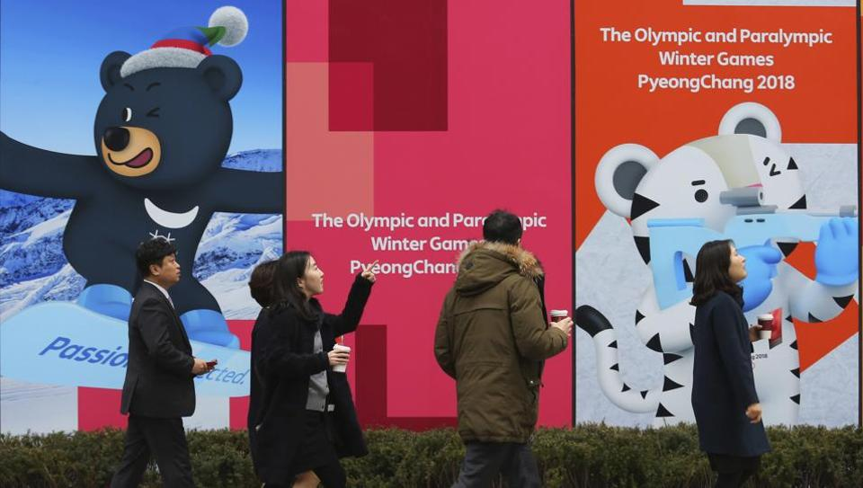 2018 Winter Olympics,North Korea,South Korea