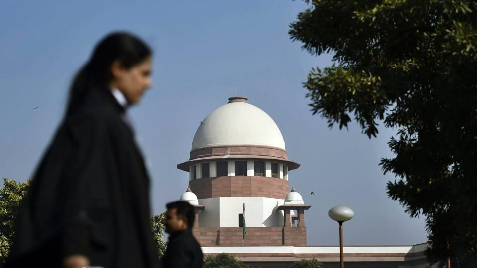 A view of the Supreme Court in New Delhi on Tuesday.