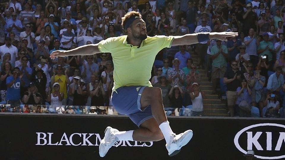 Australian Open,Jo-Wilfried Tsonga,Denis Shapovalov