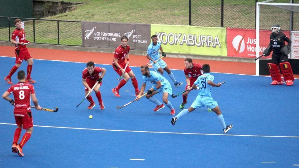 Belgium beat India 2-0 in Four Nations Hockey