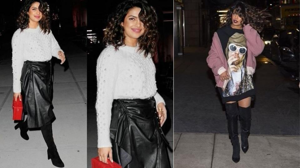 Quantico actor Priyanka Chopra aka Bollywood's street-style star in Hollywood offers inspiration on how to rock your next going-out outfit.