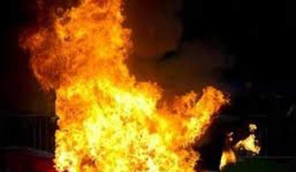 The cause of fire in the Borivli shop is yet to be ascertained, fire department officials said.