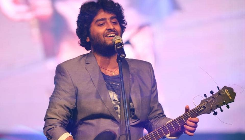 somebody f king fix this mic swearing angry arijit singh gives