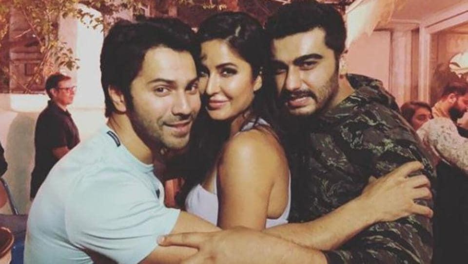 Katrina Kaif,Varun Dhawan,Arjun Kapoor