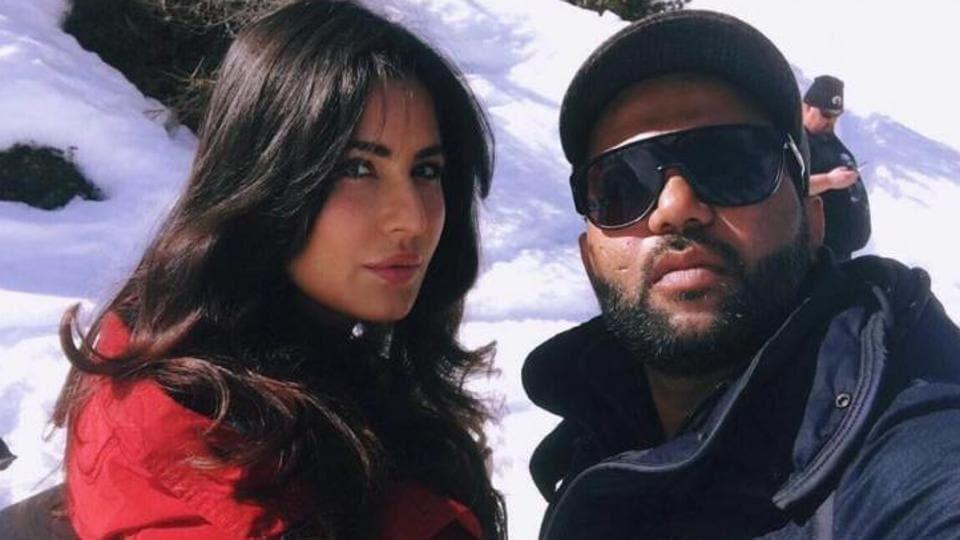 Ali Abbas Zafar and Katrina Kaif on the sets of Tiger Zinda Hai.