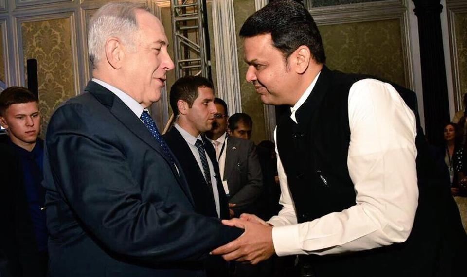 Devendra Fadnavis,Israeli Prime Minister,Benjamin Netanyahu