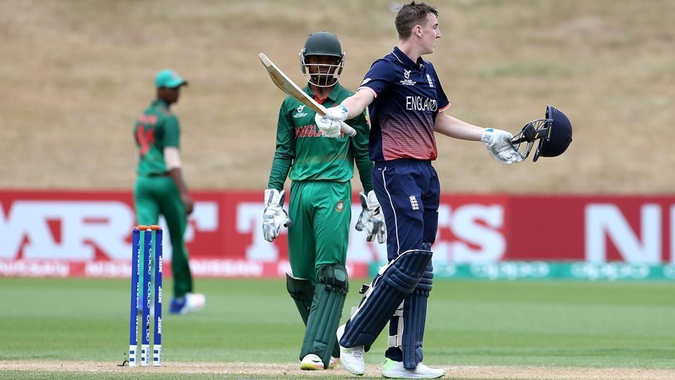 England thump Bangladesh to reach quarter finals
