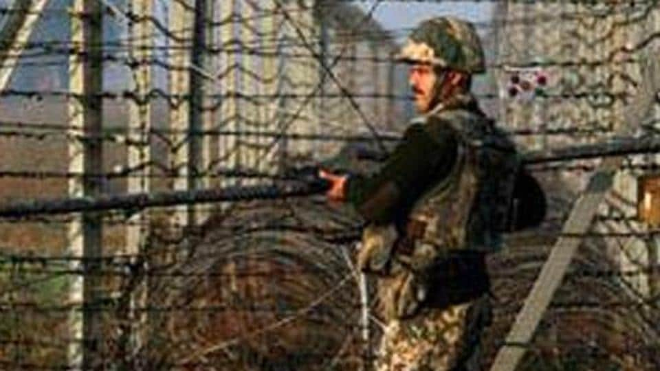 Pakistani Rangers resorted to repeated ceasefire violations across Line of Control in Kashmir.