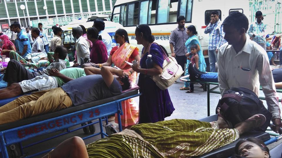 Image result for long waiting lines at public hospitals india
