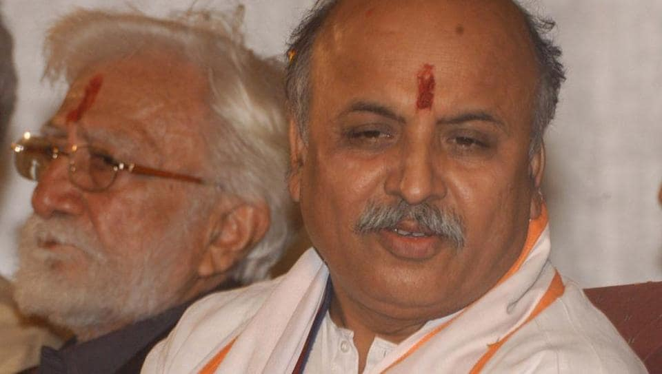 """VHP leader Pravin Togadia had gone """"missing"""" on Monday and emerged from a private hospital nearly 12 hours later in a reportedly unconscious state."""