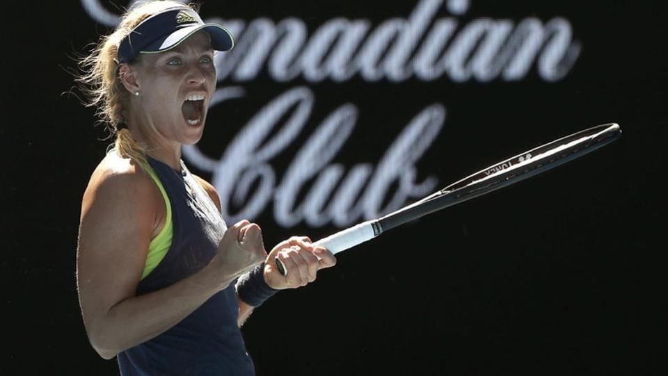 German Angelique Kerber eased past Donna Vekic of Croatia and will play former winner Maria Sharapova next. (REUTERS)