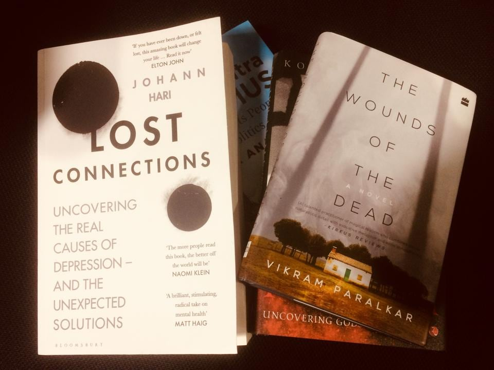 Horror, food, and depression... All that on this week's list of recommended reads!