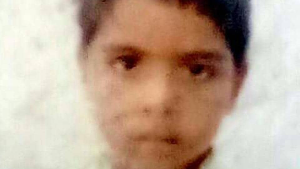 The boy, Madhav Bhardwaj, had got trapped in the crossfire while he was playing with his friends.