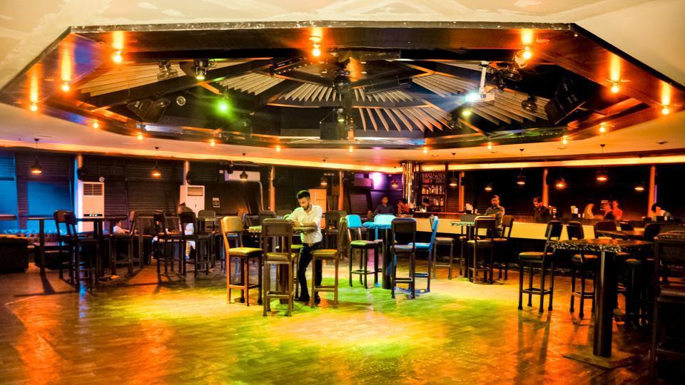 The lounge area at Casa Vito Bar & Cafe, Bandra (Mumbai).