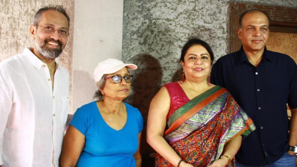 Rajesh Mapuskar, Aruna Raje, Madhu Chopra and Ashutosh Gowariker