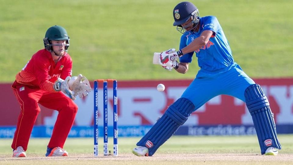 Shubman Gill scored a brilliant half century to guide India to a comfortable win over Zimbabwe in the ICC U-19 Cricket World Cup.