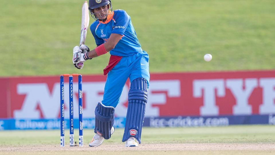 Shubman Gill scored an unbeaten 90 to help India get over the line. (ICC)