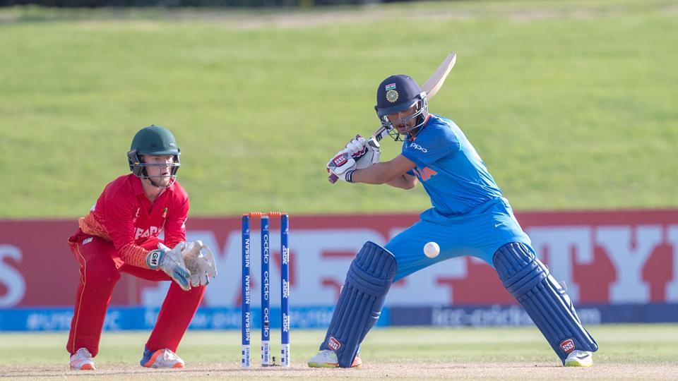 Gill's fellow opener Harvik Desai scored an unbeaten 56 as India won by 10 wickets. (ICC)
