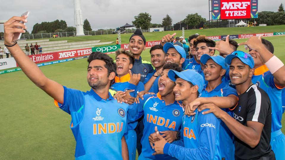 India will next take on the second-place team from Group C in the quarterfinals. (ICC)