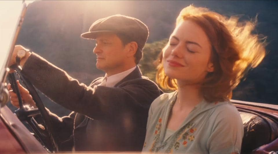 Colin Firth in a still from Magic in the Moonlight.