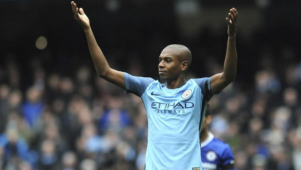 Manchester City,Fernandinho,Premier League
