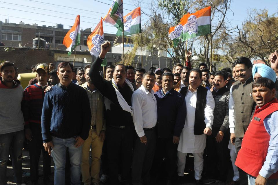 BJP, Cong neck and neck in MP civic poll results