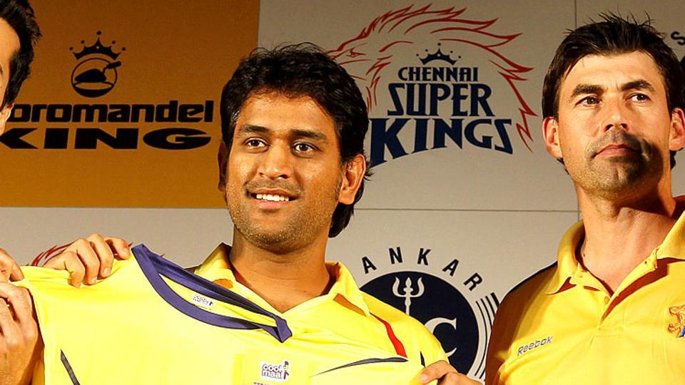 Chennai Super Kings has retained MS Dhoni as captain and Stephen Fleming as head coach.