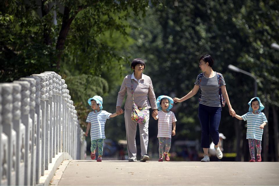 China birthrate,China two child policy,China population