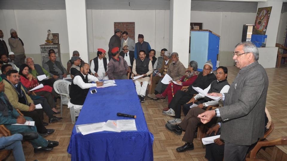 Former state Congress chief Kishore Upadhyay held 'Uttarakhand Vimarsh', a daylong consultation on issues centric to the hill state, in Dehradun on Friday.