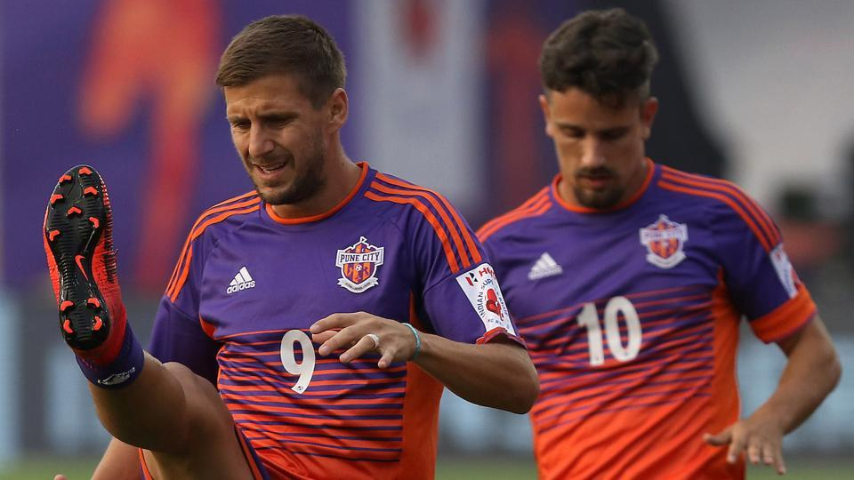 FC Pune City will bank on the experience of Emiliano Alfaro and Marcelo Pereira to come good against ATK when they face off in an Indian Super League (ISL) game in Pune.