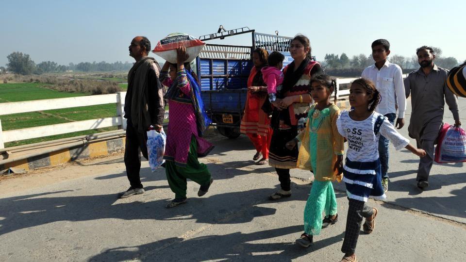 Indo-Pak border,International Border,Line of Control
