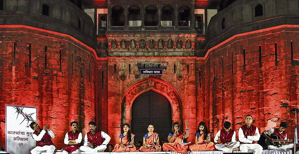 Shaniwarwada has traditionally been the showpiece venue for major events - political, social and cultural - in the city.
