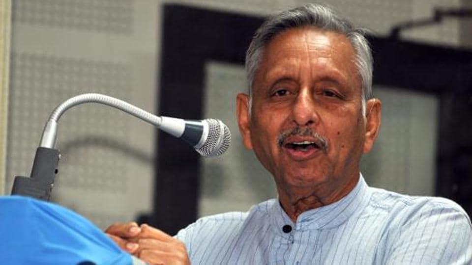 Disqualified Congress leader Mani Shankar Aiyar.