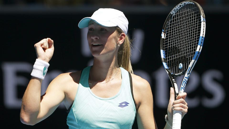 Australian Open,Denisa Allertova,Magda Linette