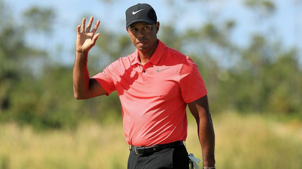 Tiger Woods has won the Farmers Insurance Open golf seven times.