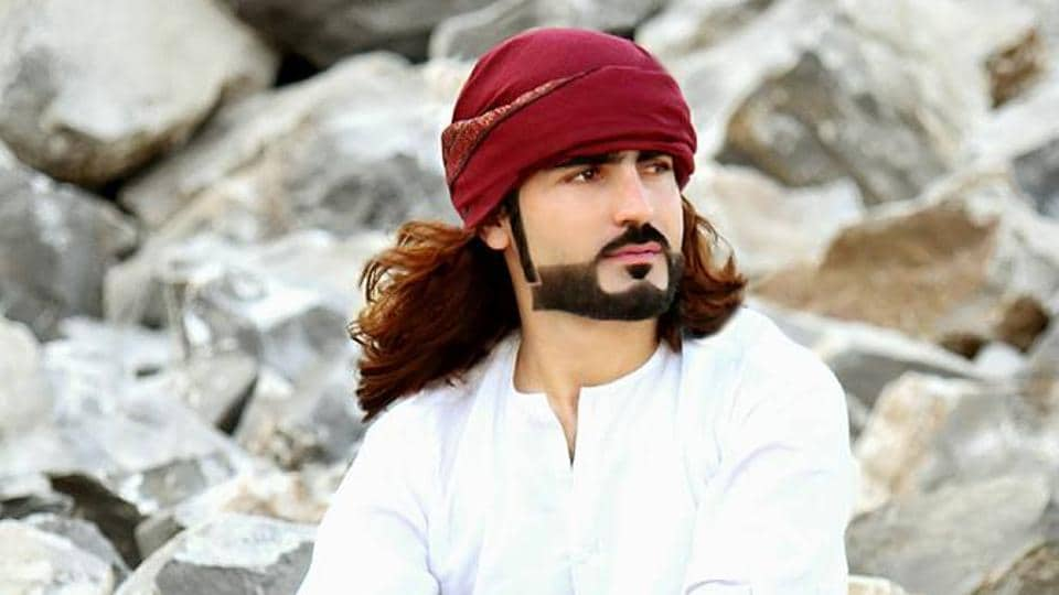 Photo of Naqeebullah Mehsud taken from his Facebook page.