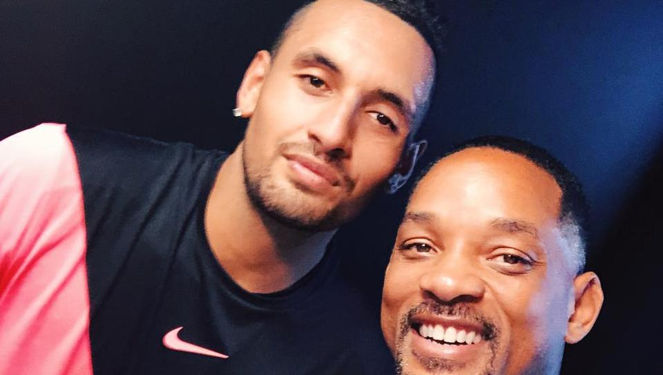 Nick Kyrgios,Australian Open,Will Smith